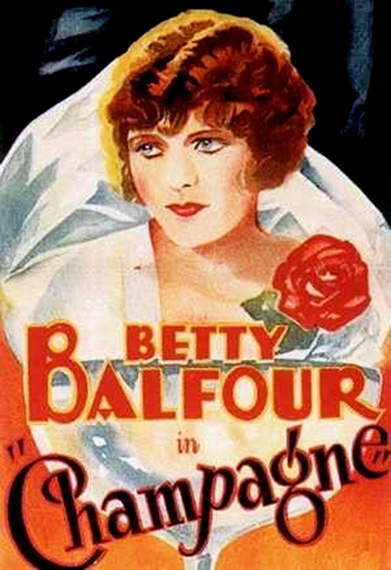 Champagne (1928 film) movie poster