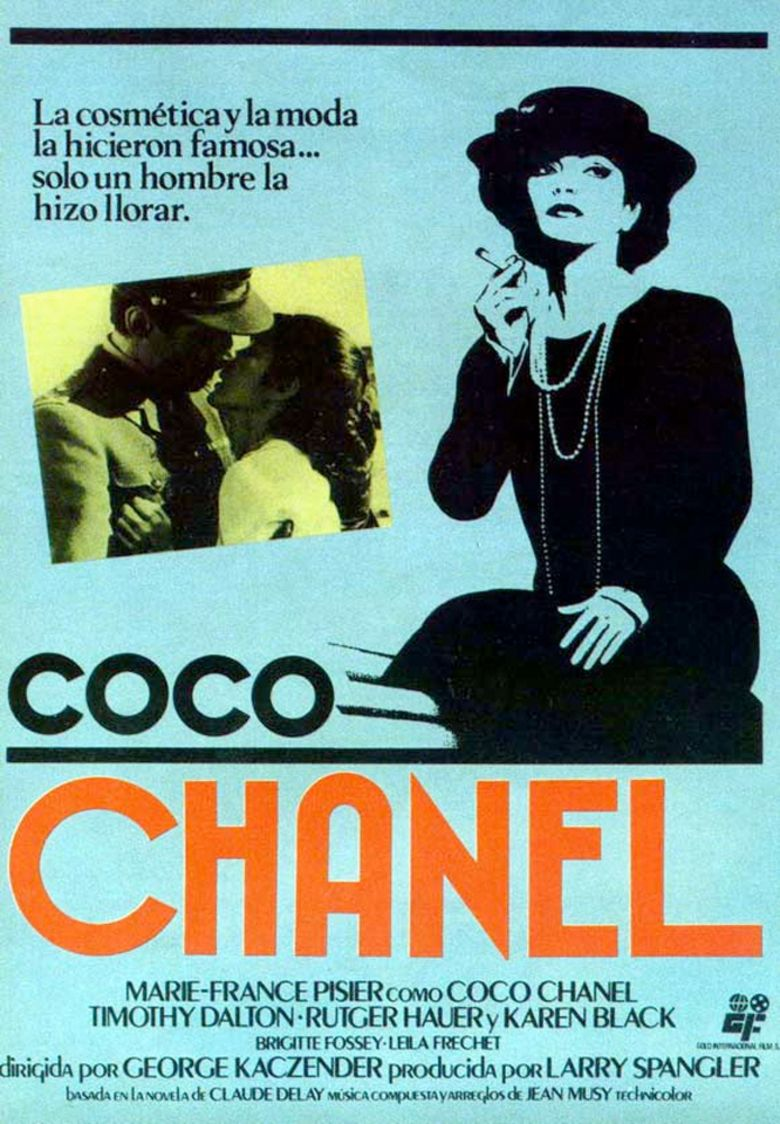 Chanel Solitaire movie poster