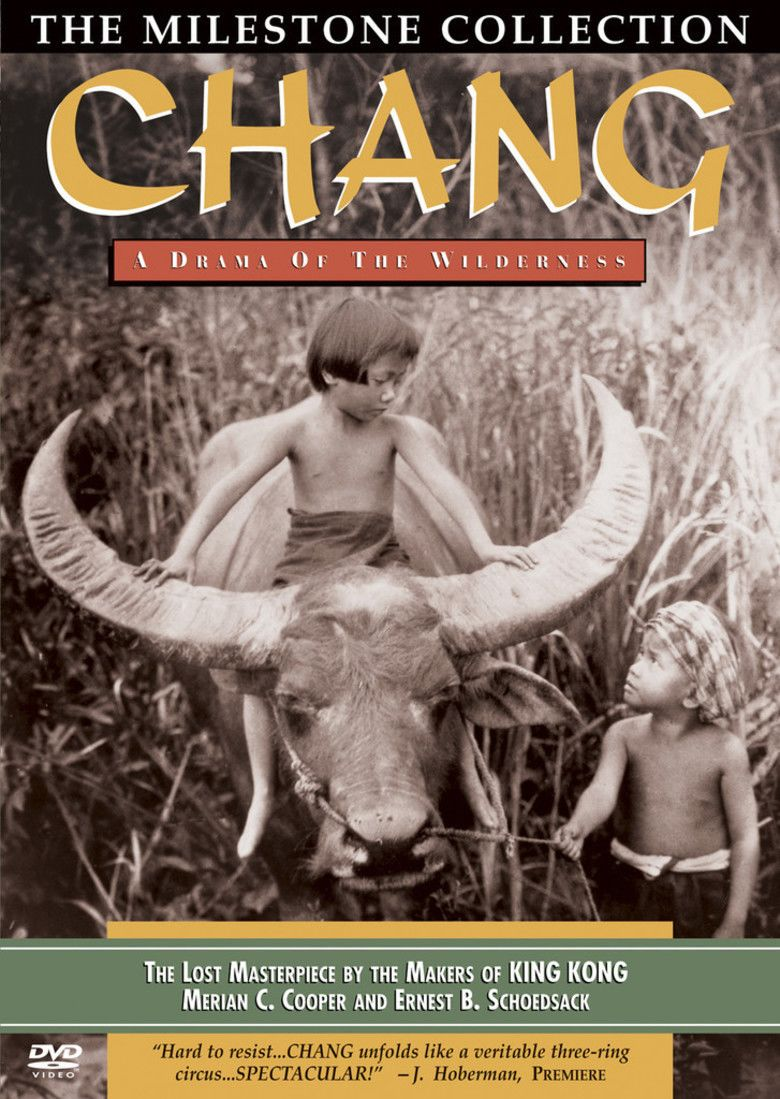 Chang (film) movie poster