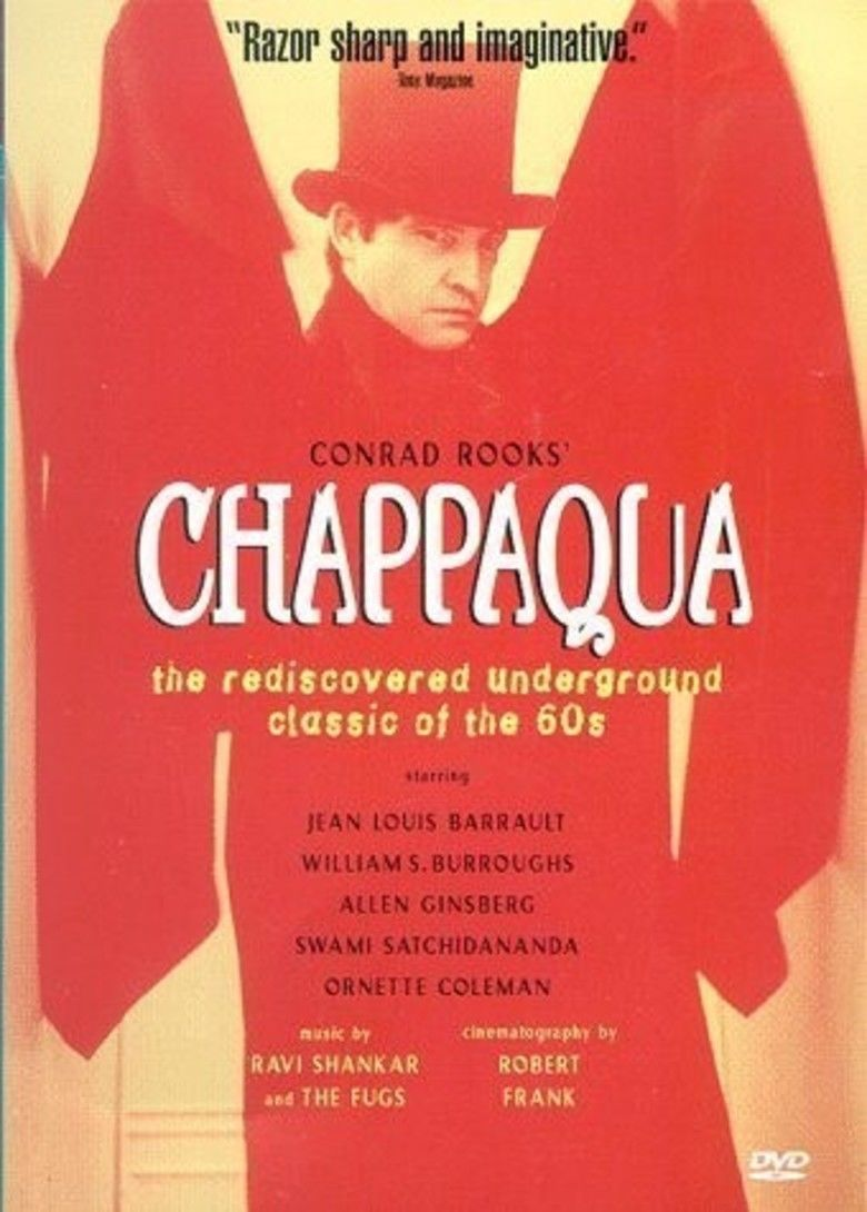 Chappaqua (film) movie poster