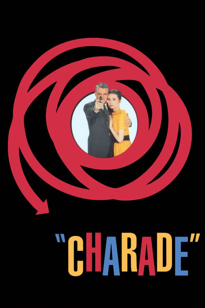 Charade (1963 film) movie poster