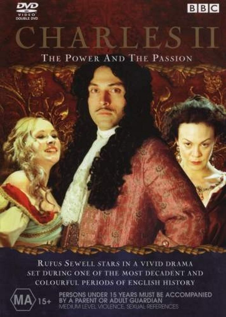 Charles II: The Power and The Passion movie poster