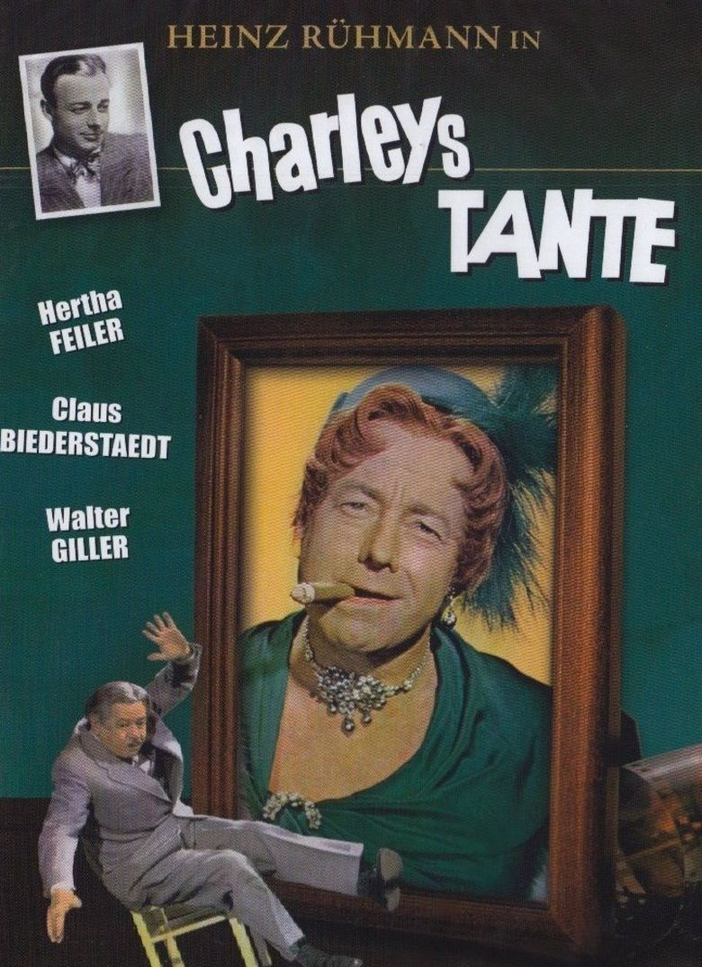 Charleys Aunt (1956 film) movie poster