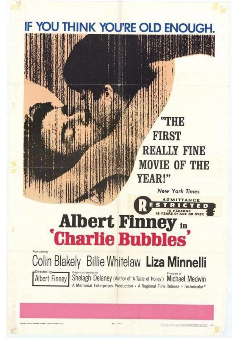 Charlie Bubbles movie poster