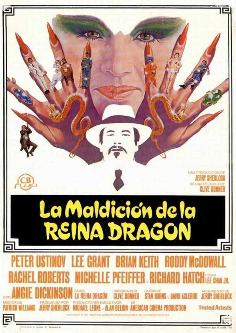 Charlie Chan and the Curse of the Dragon Queen movie poster