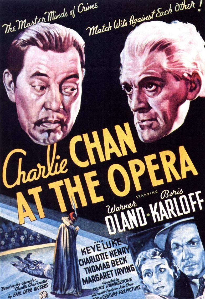 Charlie Chan at the Opera movie poster