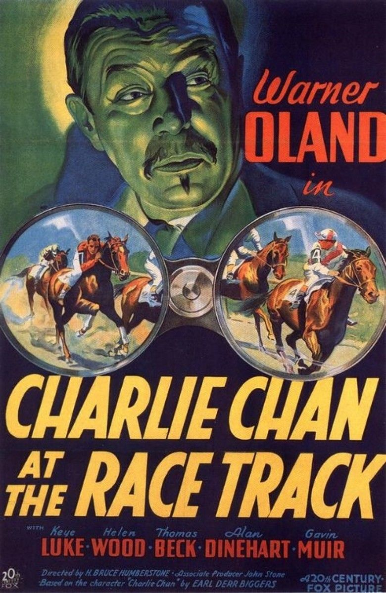 Charlie Chan at the Race Track movie poster
