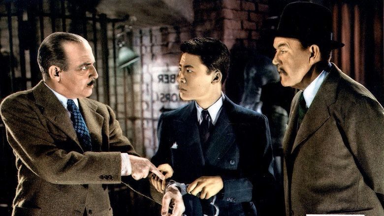 Charlie Chan at the Wax Museum movie scenes