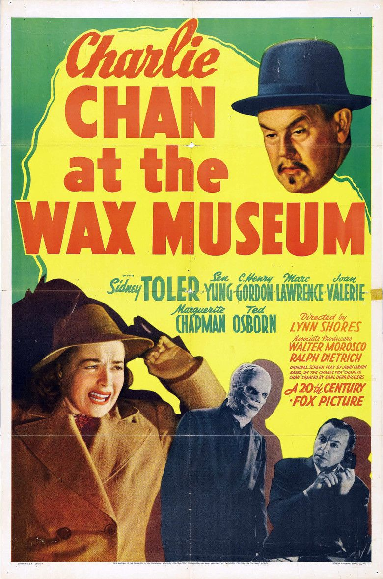 Charlie Chan at the Wax Museum movie poster