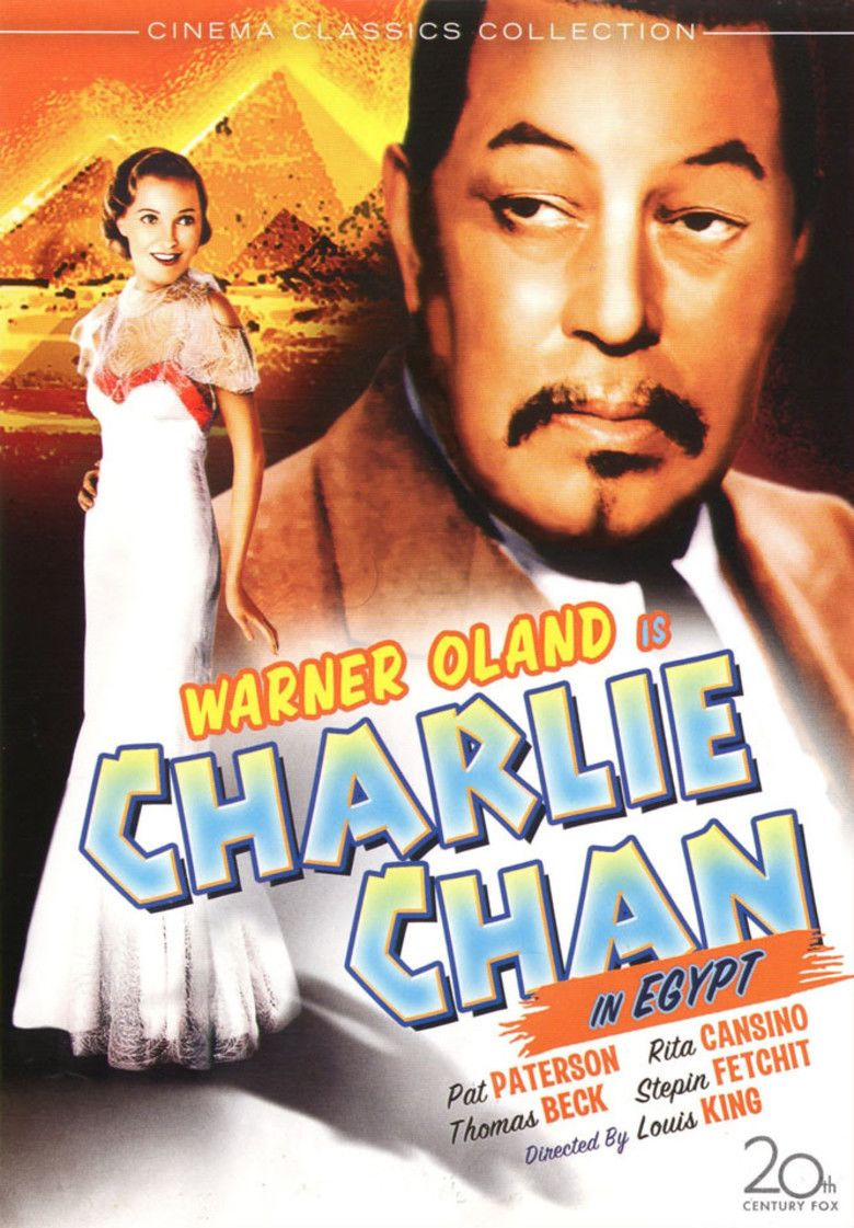 Charlie Chan in Egypt movie poster