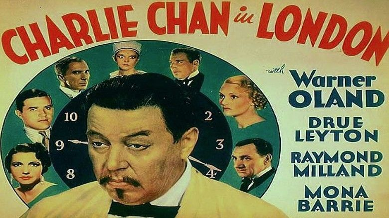 Charlie Chan in London movie scenes