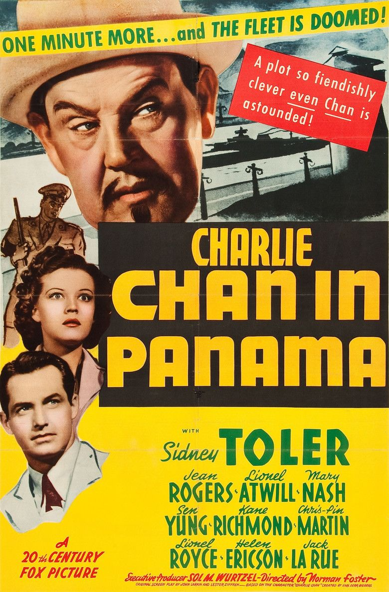 Charlie Chan in Panama movie poster