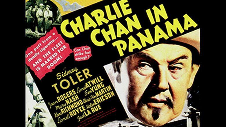 Charlie Chan in Panama movie scenes