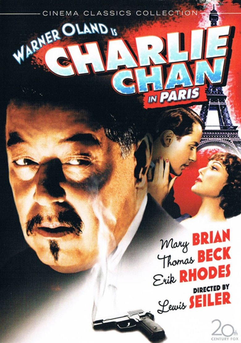 Charlie Chan in Paris movie poster