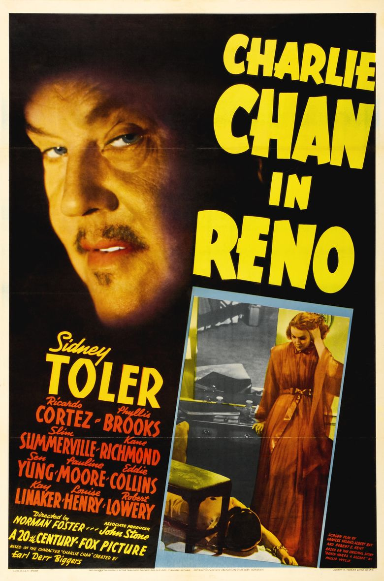 Charlie Chan in Reno movie poster