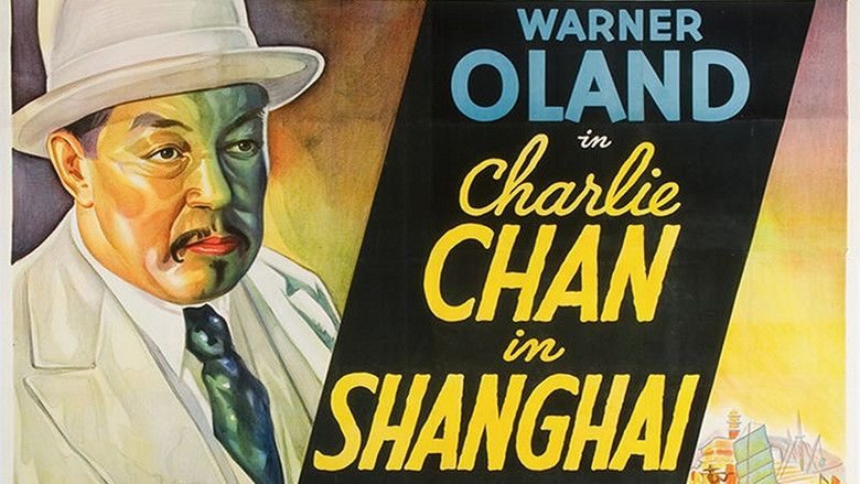 Charlie Chan in Shanghai movie scenes