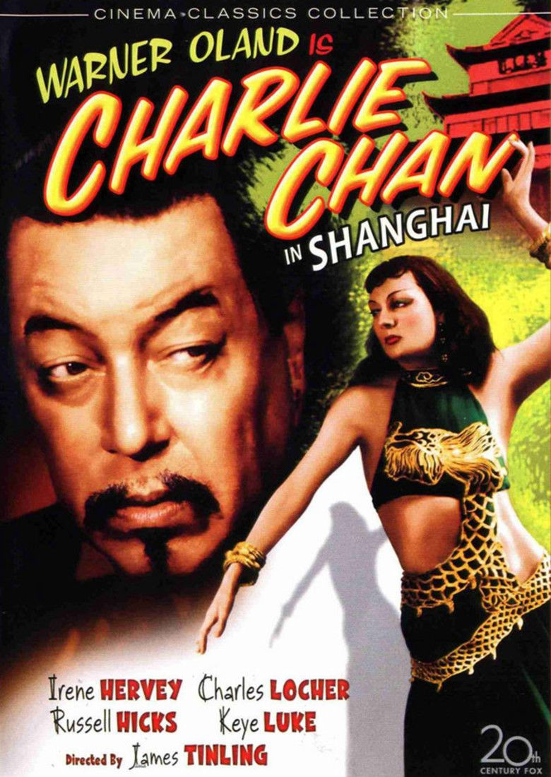 Charlie Chan in Shanghai movie poster