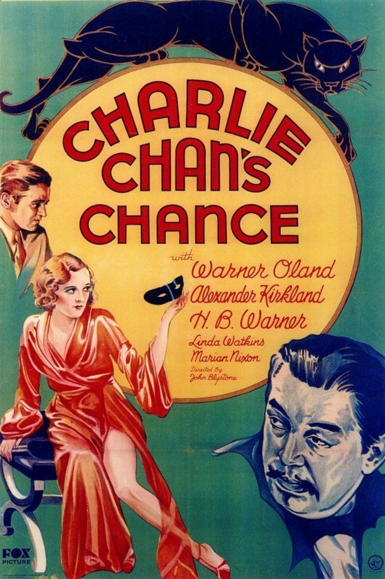 Charlie Chans Chance movie poster