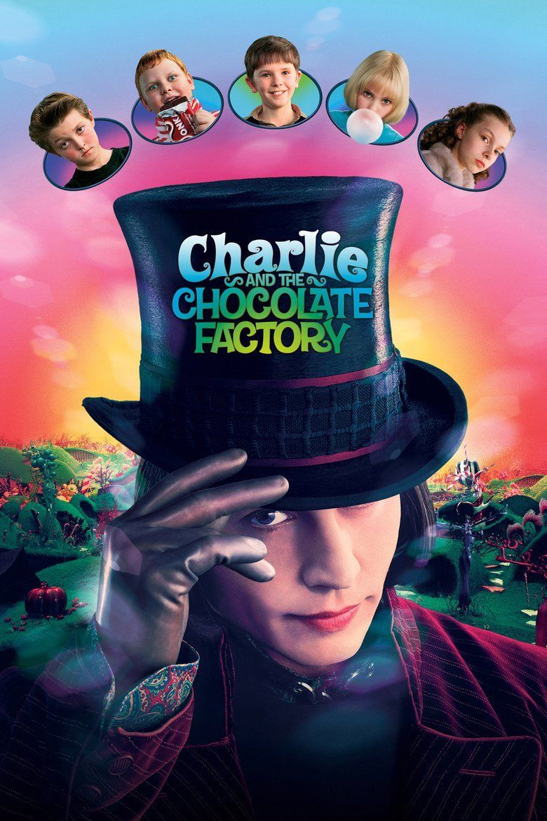 charlie and the chocolate factory film the charlie and the chocolate factory film movie poster