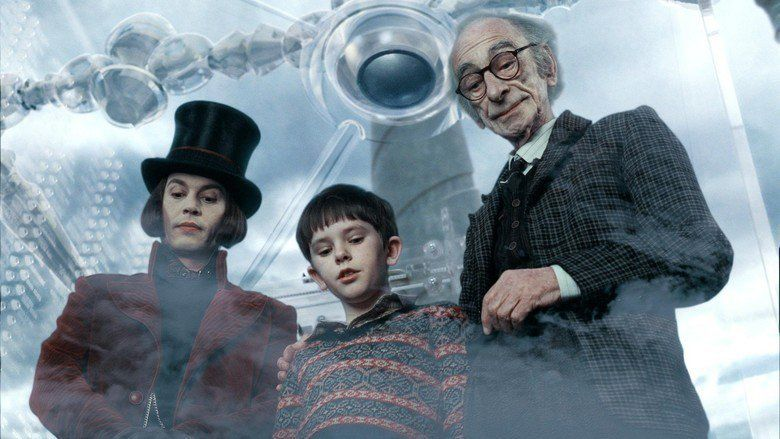 Charlie and the Chocolate Factory (film) movie scenes