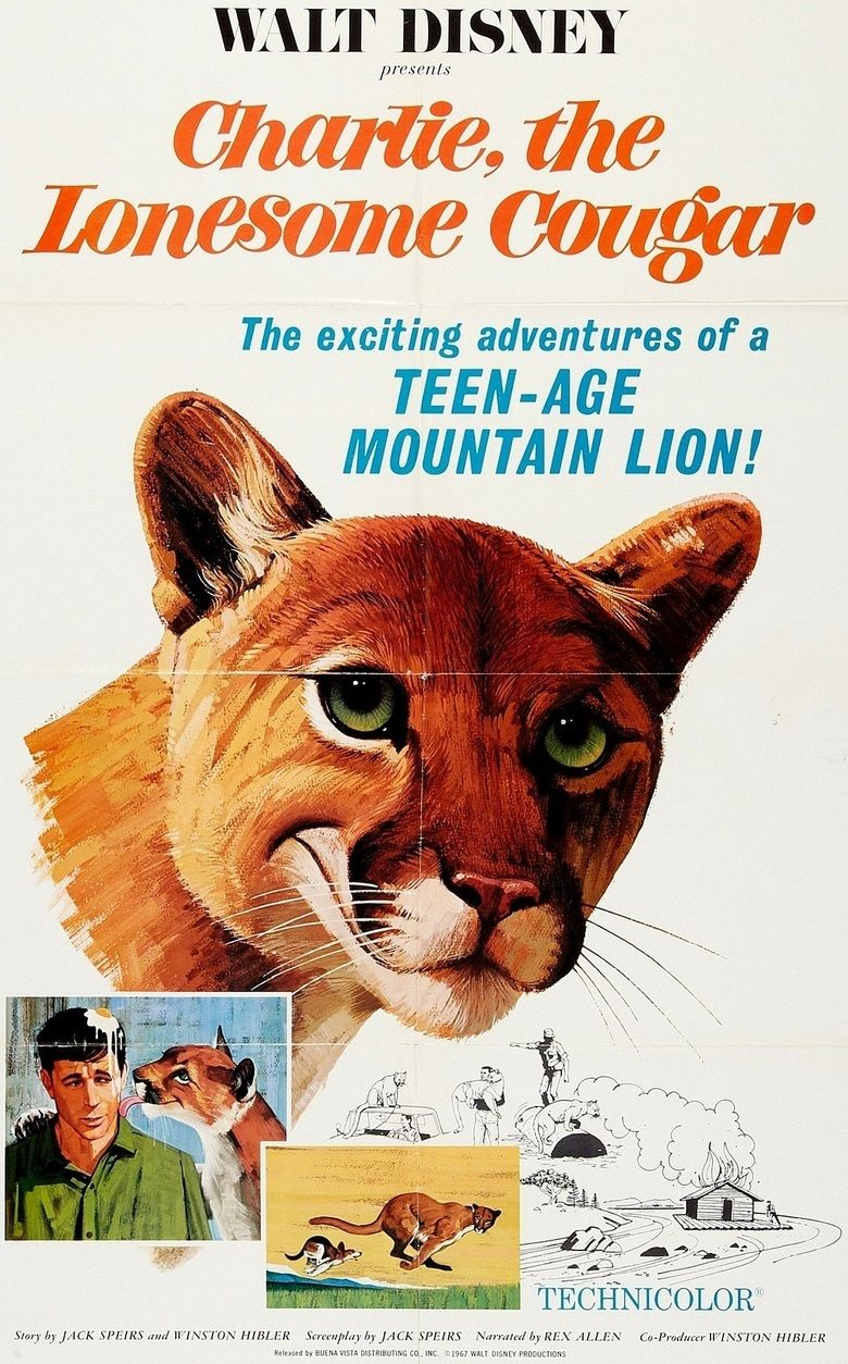 Charlie, the Lonesome Cougar movie poster
