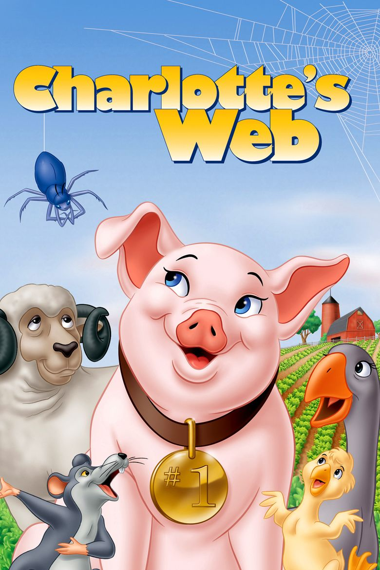 Charlottes Web (1973 film) movie poster