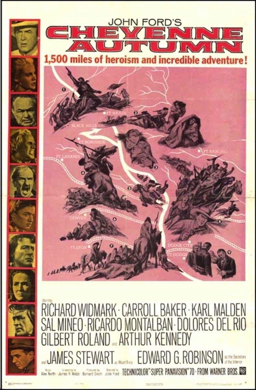 Cheyenne Autumn movie poster