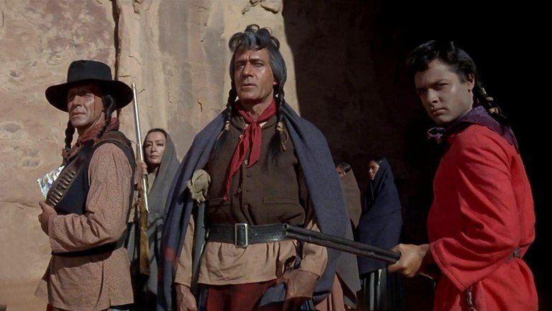 Cheyenne Autumn movie scenes