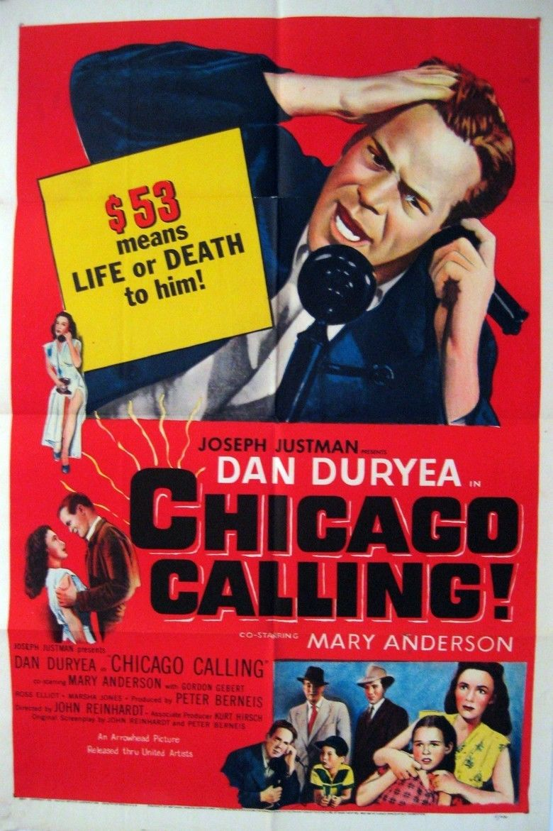 Chicago Calling movie poster