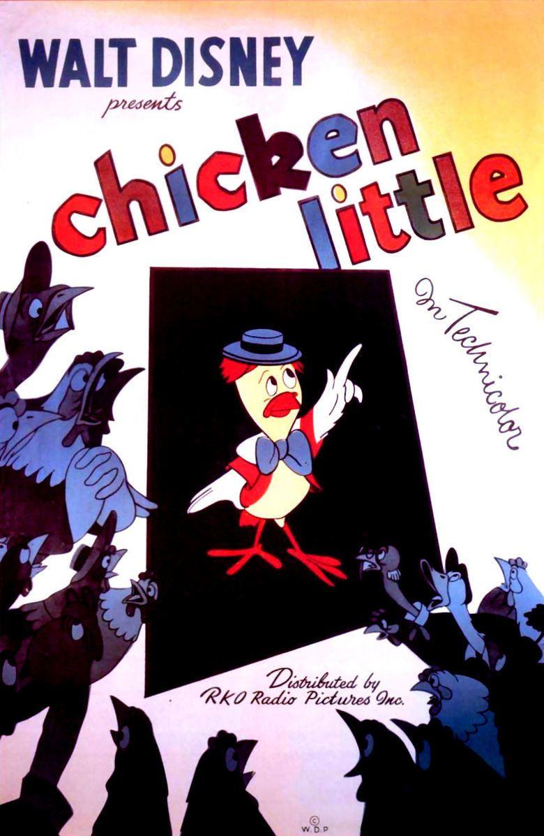 Chicken Little (1943 film) movie poster