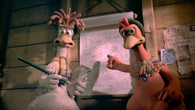 Chicken Run movie scenes