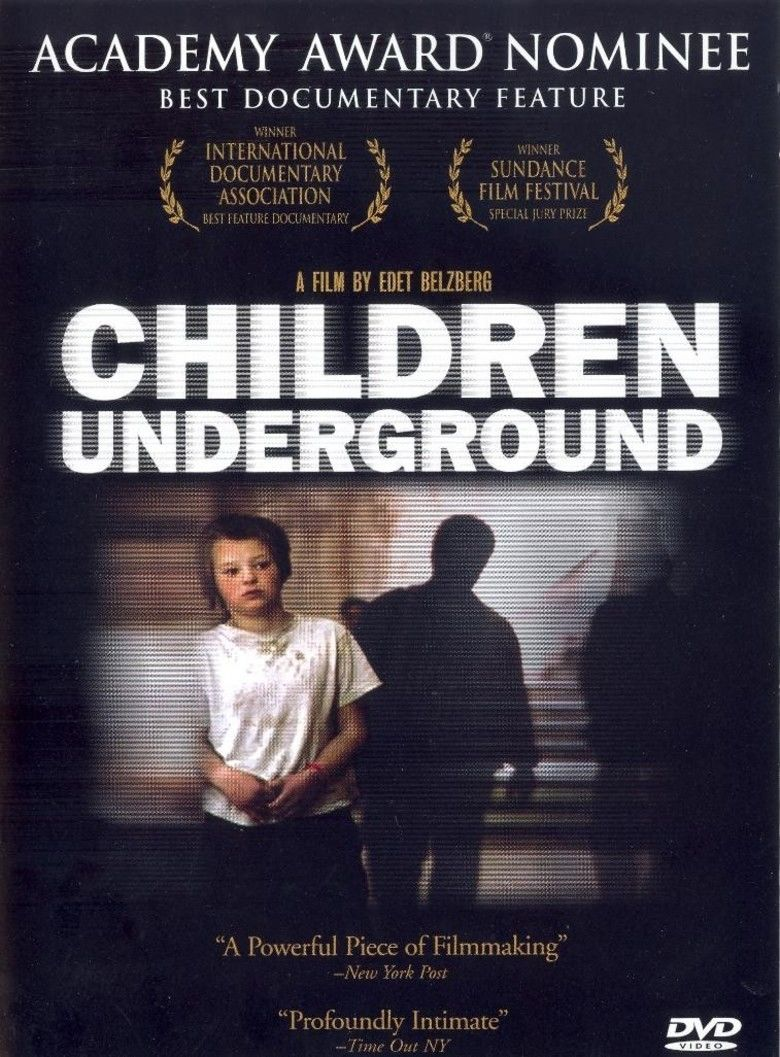 Children Underground movie poster