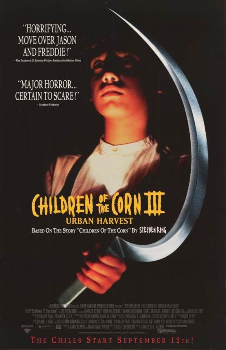 Children of the Corn III: Urban Harvest movie poster