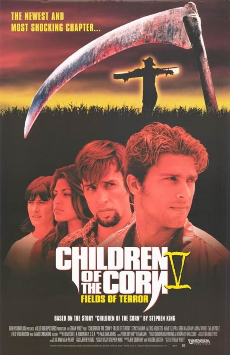 Children of the Corn V: Fields of Terror movie poster