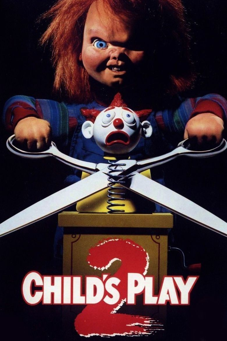 Childs Play 2 movie poster