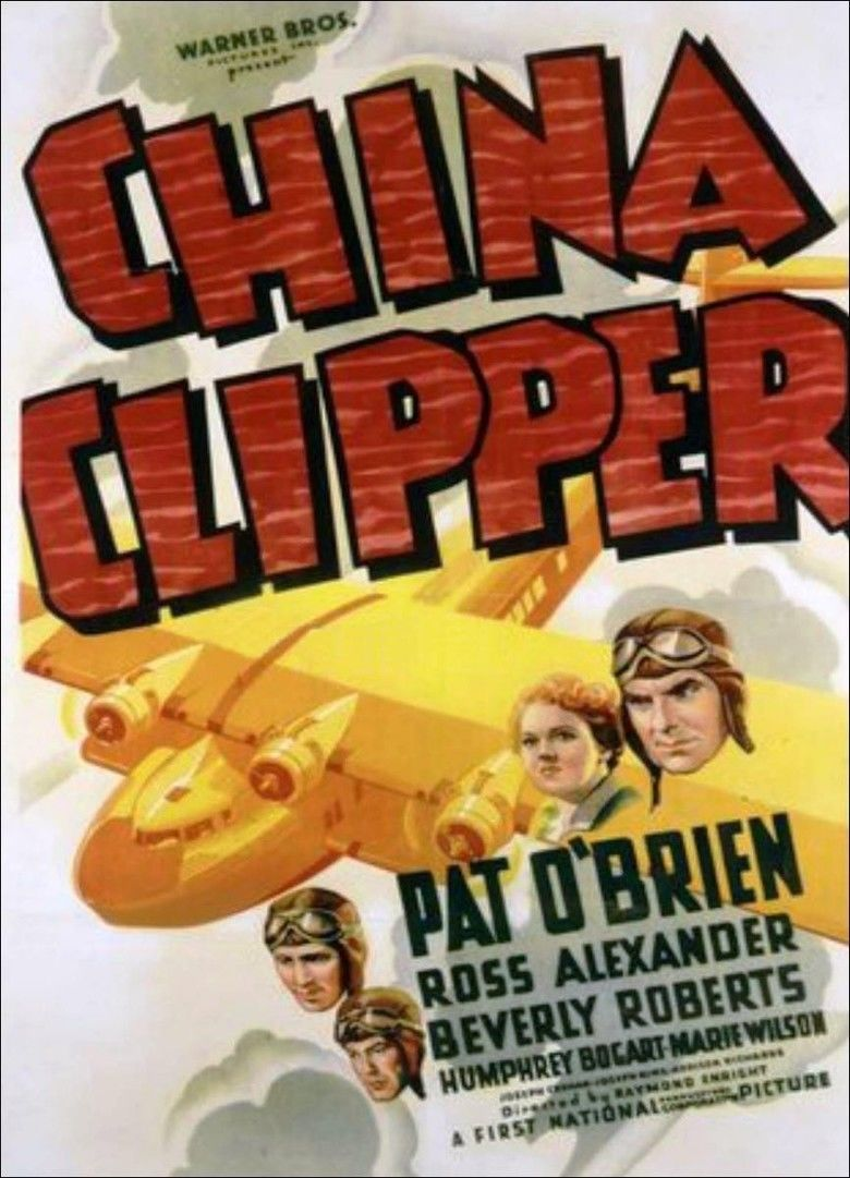 China Clipper (1936 film) movie poster