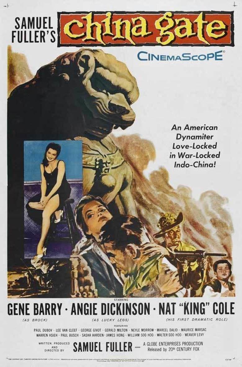 China Gate (1957 film) movie poster