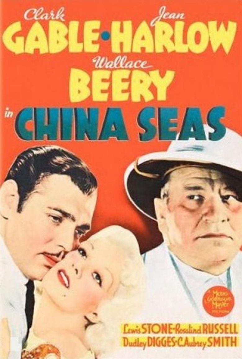 China Seas (film) movie poster