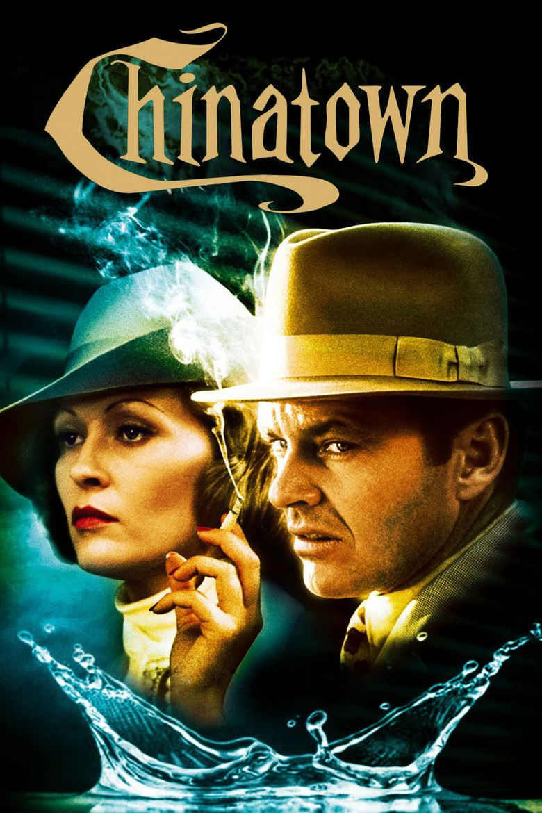 Chinatown (1974 film) movie poster
