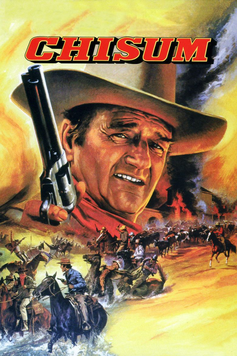 Chisum movie poster