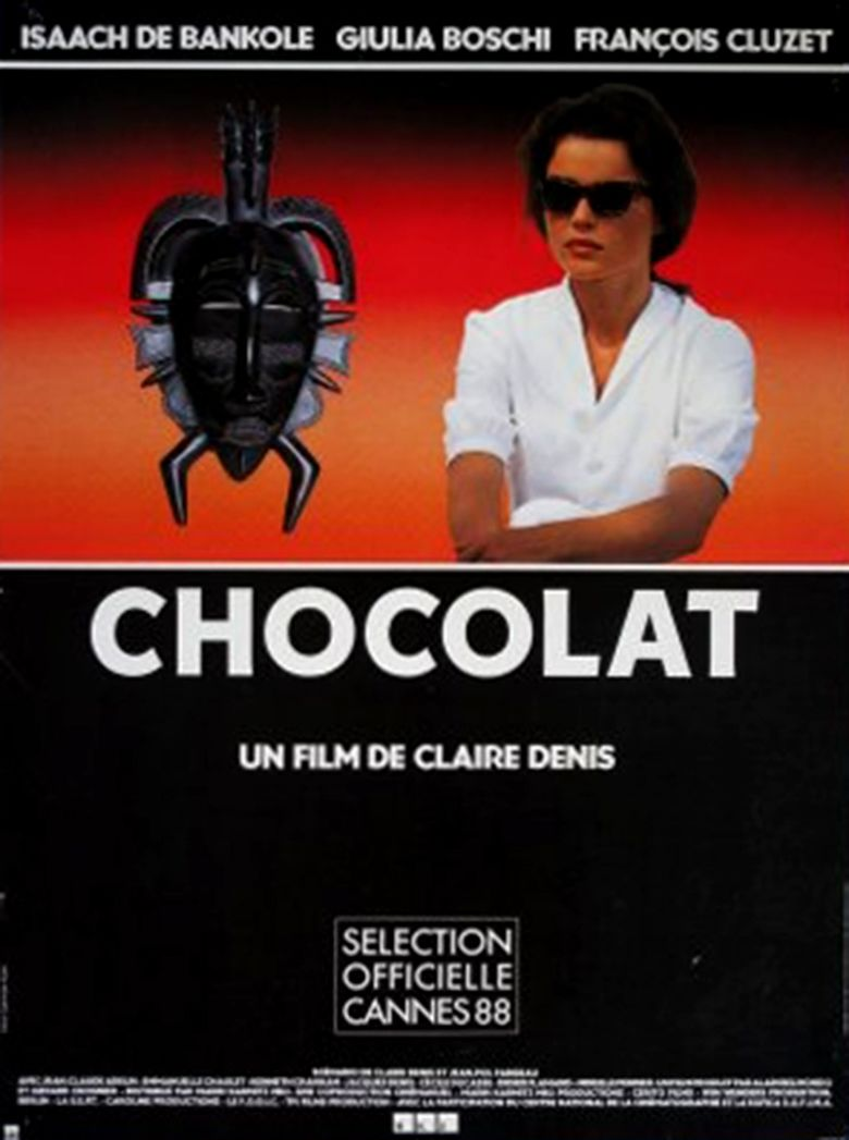 Chocolat (1988 film) movie poster