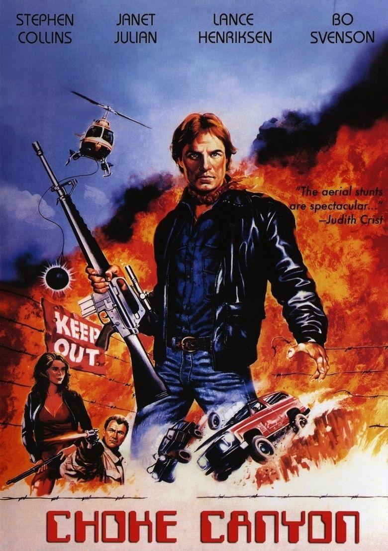 Choke Canyon movie poster