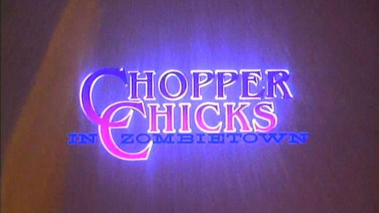 Chopper Chicks in Zombietown movie scenes