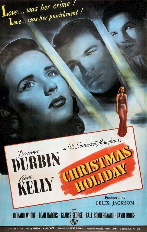 Christmas Holiday movie poster