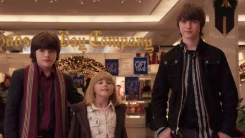 Christmas in Wonderland movie scenes