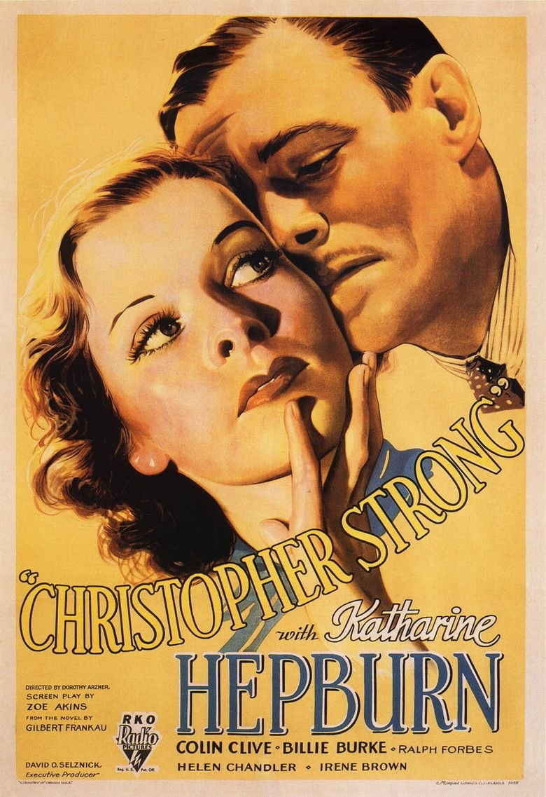 Christopher Strong movie poster