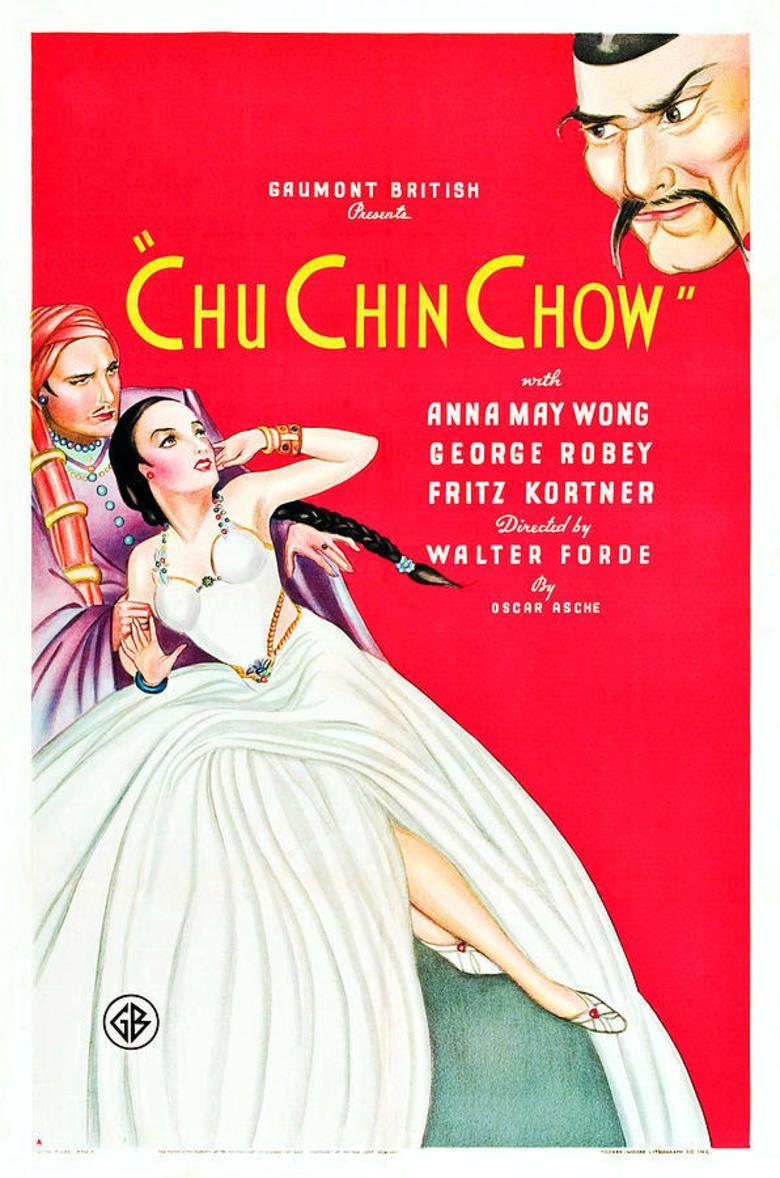 Chu Chin Chow (1934 film) movie poster