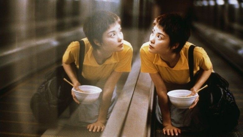 Chungking Express movie scenes
