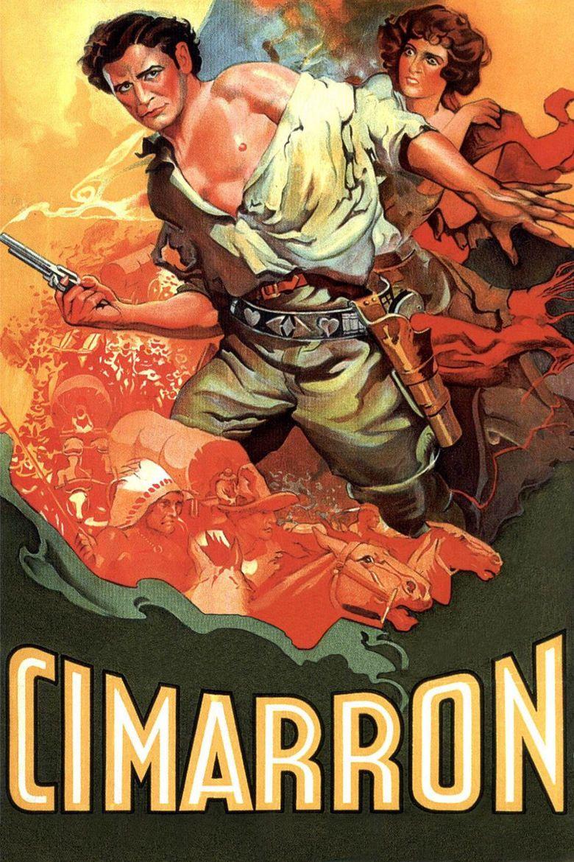 Cimarron (1931 film) movie poster