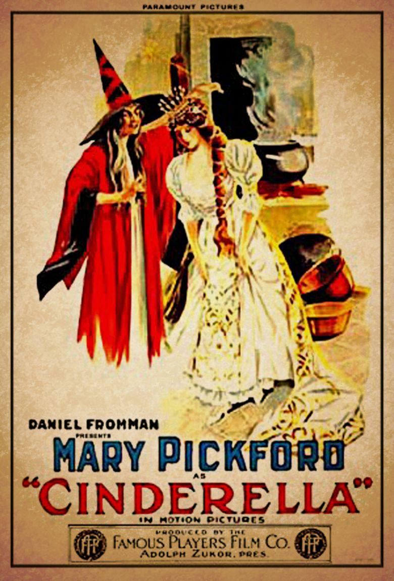 Cinderella (1914 film) movie poster